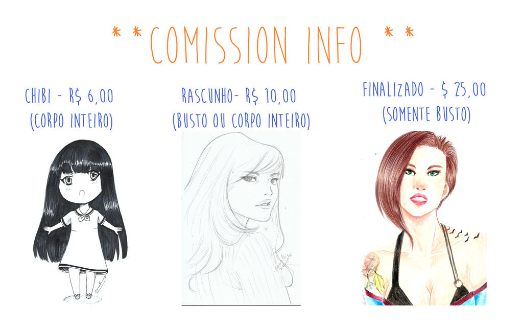 Comission Info by Pammella
