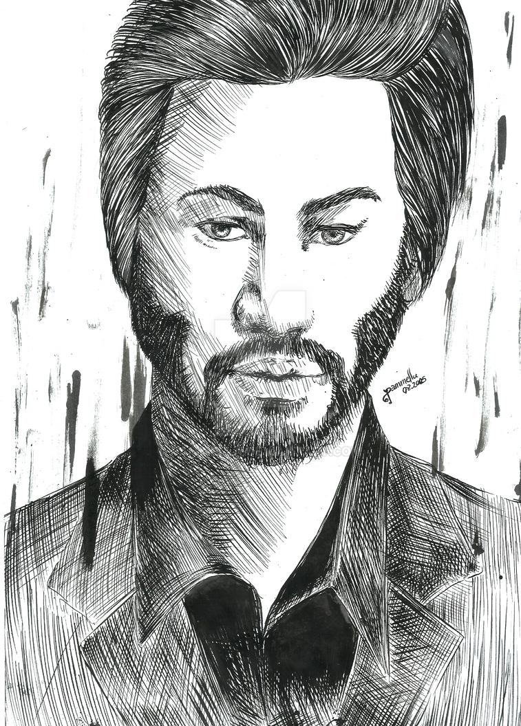 Keanu Reeves by Pammella