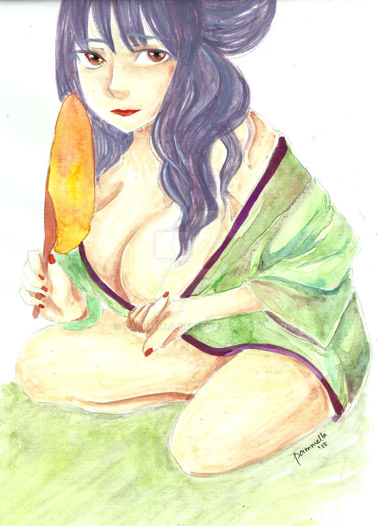 Hot days by Pammella