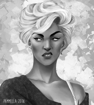 Woman Portrait Study