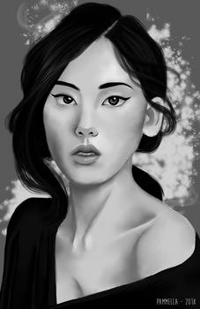 Woman Portrait Study II