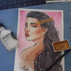 study watercolor