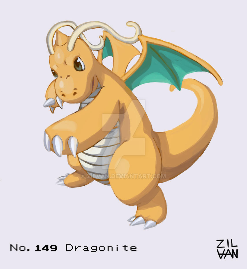 Dragonite by Zilvan
