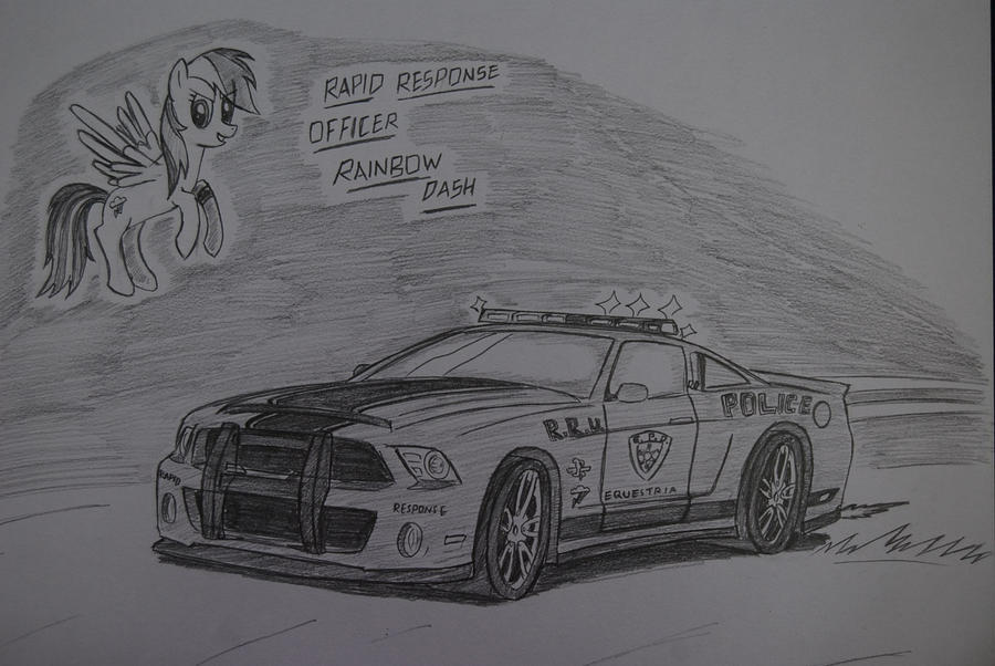 Officer Rainbow Dash by Ricky47
