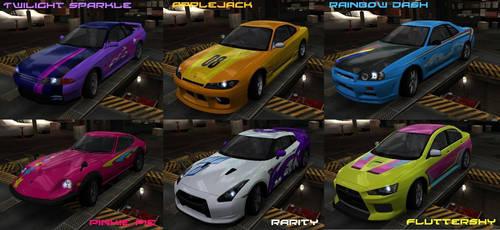 MLP NFS Racers by Ricky47