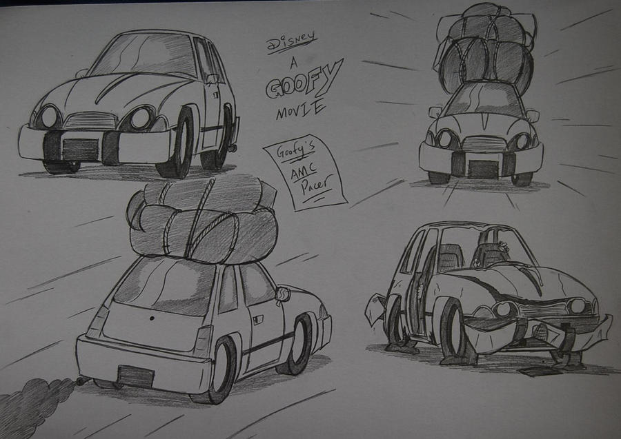 Goofy's AMC Pacer by Ricky47