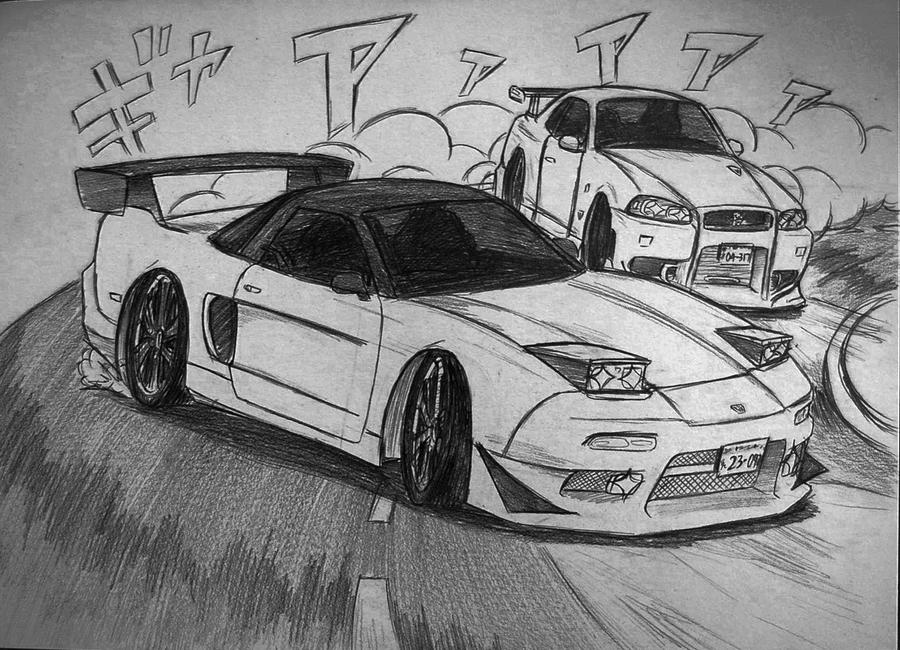 BATTLE! NA1 vs R34 by Ricky47