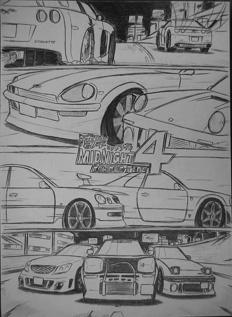 Wangan Midnight Maximum Tune 4 by Ricky47
