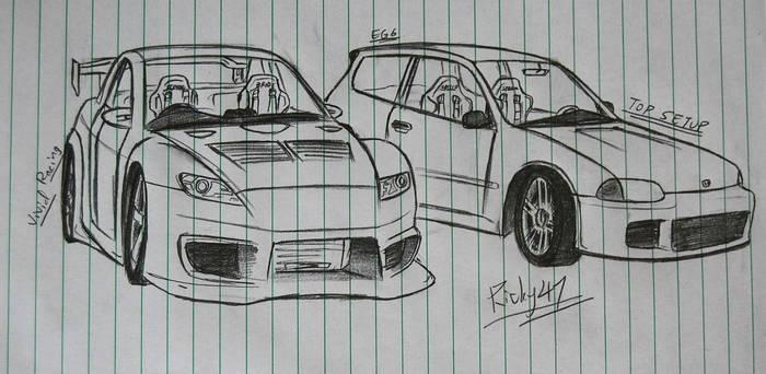 Vivid Racing RX-8 and Top Setup EG6
