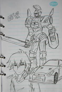 Sketches: Gyrozetter GT-R