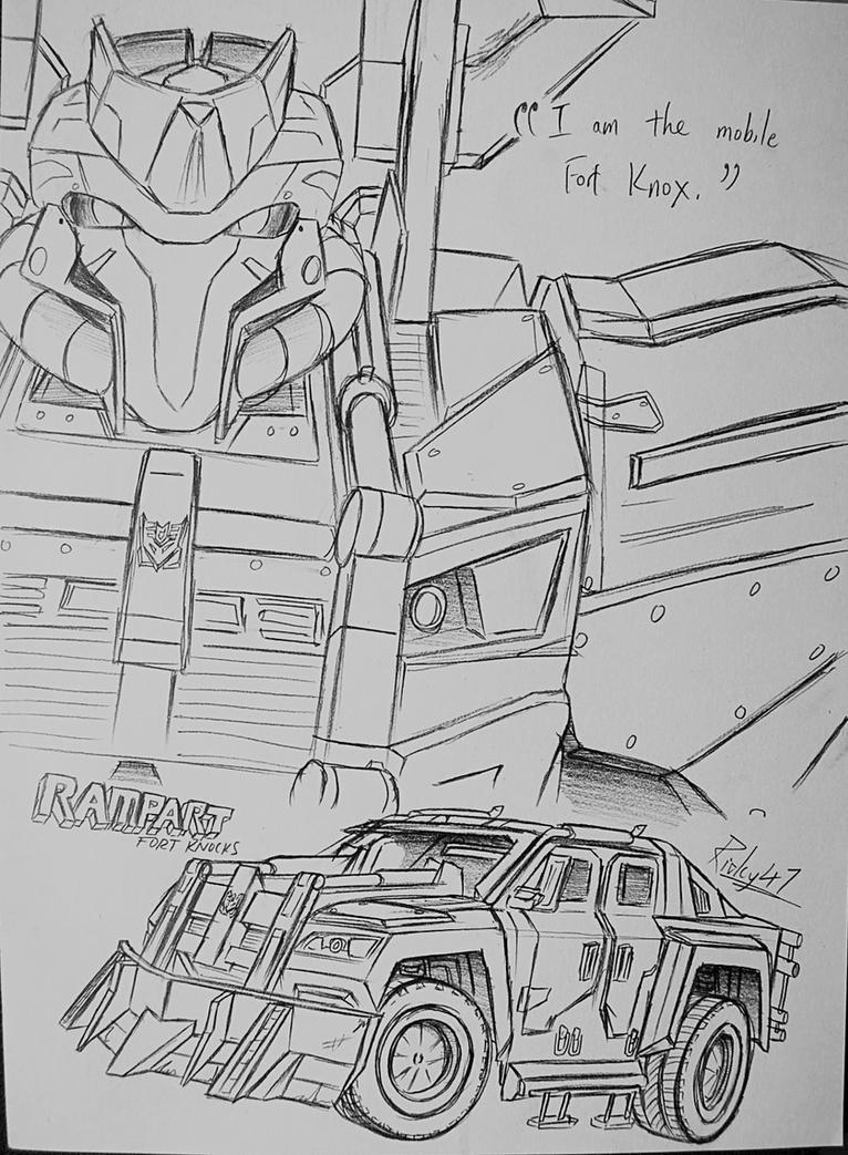 Transformers Universe - Rampart by Ricky47