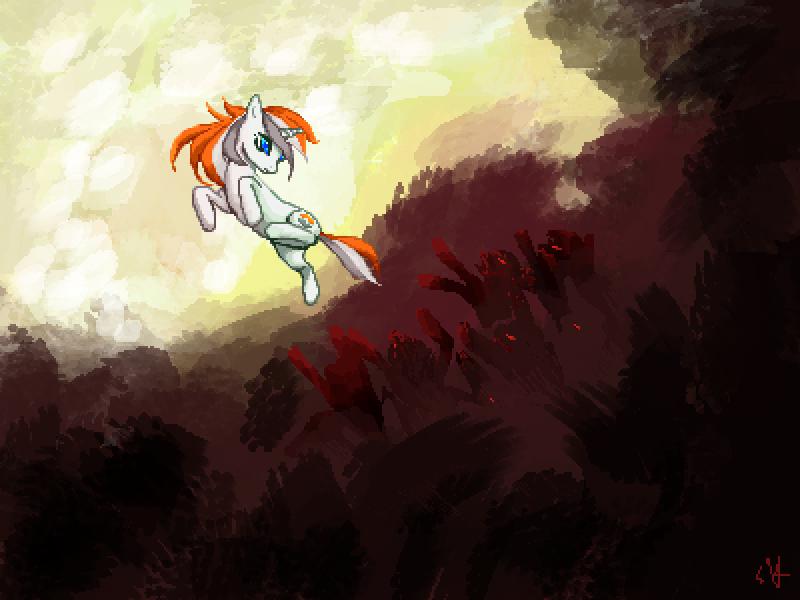 Belle Eve versus Zombie Ponies by Dark-Pen
