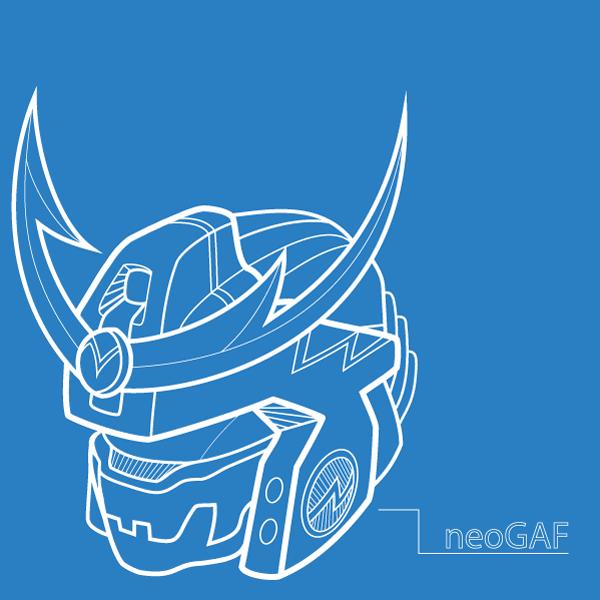 MechaGAF helmet design by Dark-Pen