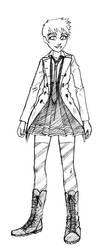 Katy alternate outfit by Dark-Pen