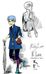 Katy - OC character art by Dark-Pen