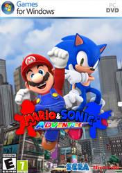 Mario and Sonic Adventure by Jeageruzumaki