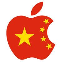 Communist China Apple Logo by Robert-LaRose