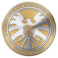 S.H.I.E.L.D. Agent Badge (Gold Two Tone v2) by Robert-LaRose