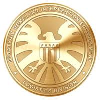 S.H.I.E.L.D. Agent Badge (Gold) by Robert-LaRose
