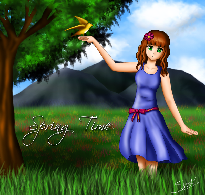 Spring Time by Azrx004