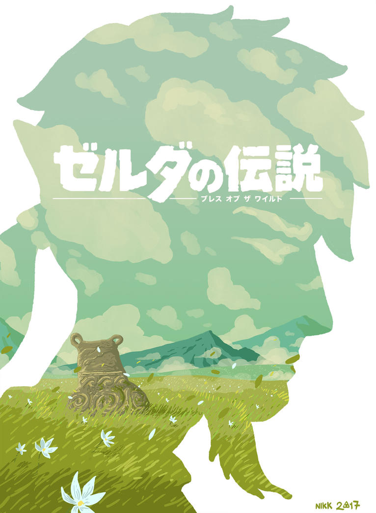 Legend of Zelda fanart by Nikkarin