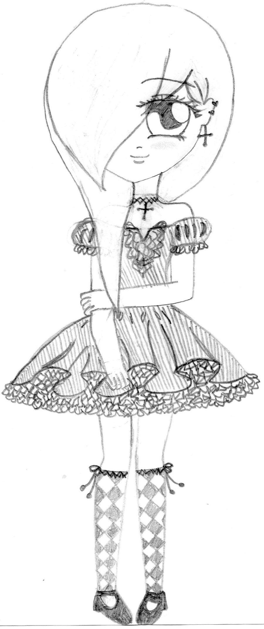 Emo Anime Girl By AnimeFreakOnline On DeviantArt