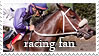 Racing Fan Stamp by kittykitty5150