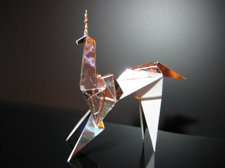 blade runner unicorn origami prop by furthershore on