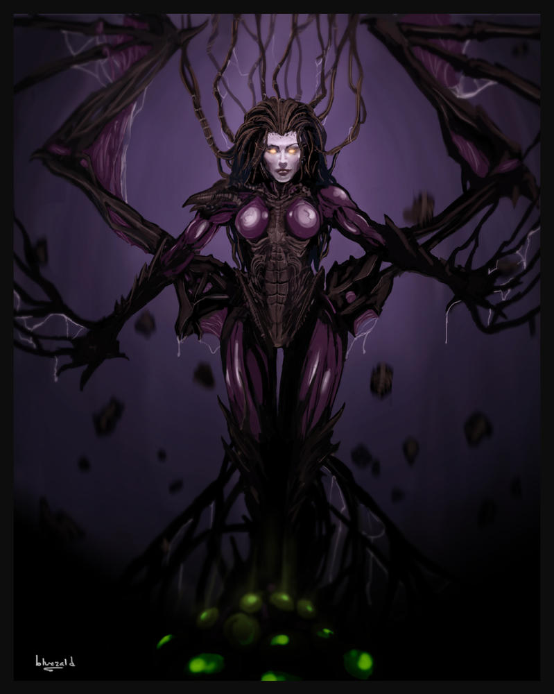 Kerrigan: Mutation Complete by bluezald