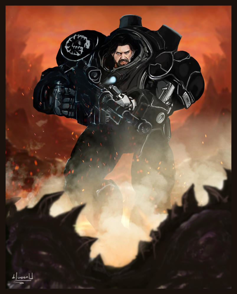 Jim Raynor: On the Roll by bluezald