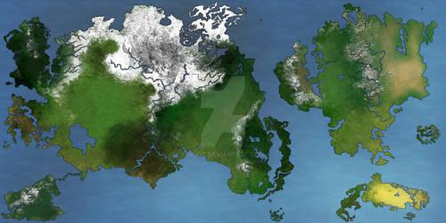 World Map: Odilia (Spring)