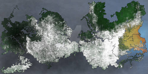 World Map: Gishmia (Winter)