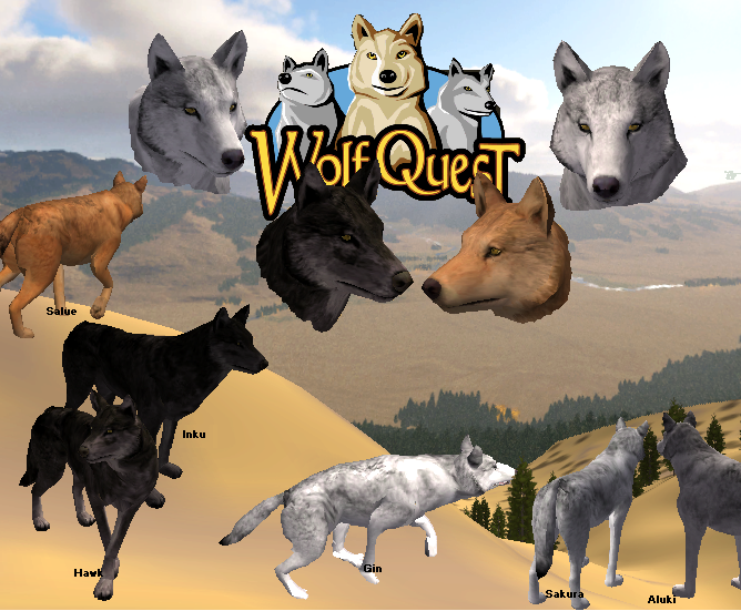 how to download wolf quest