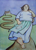 Rescued - Cinderella by rachelillustrates
