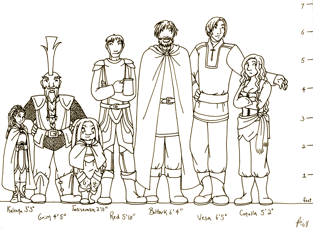 Current party height chart by rachelillustrates on deviantart rachelillustrates dnd current party height chart by rachelillustrates nvjuhfo Images