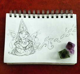 Sunday Gnomedays 7-29-18 by rachelillustrates