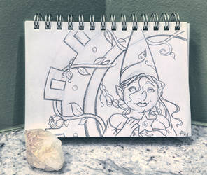 Gnomevember 2018 day 30 - Balance by rachelillustrates