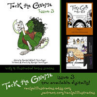 'Tock the Gnome' issue 3 now available!!