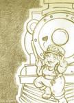 Promo - 'Tock the Gnome' WorldBuildingWednesday128 by rachelillustrates