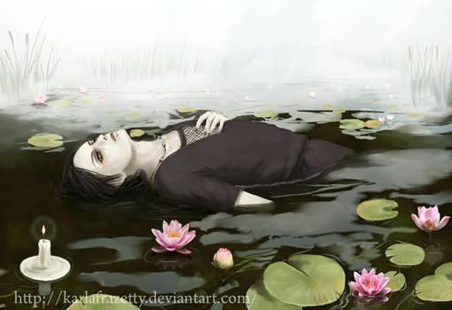 Itachi's death : Lotuses