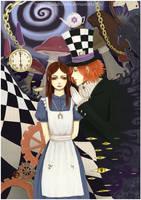 Alice in wonderland by KarlaFrazetty