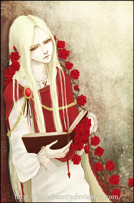 The vampire Marius by KarlaFrazetty