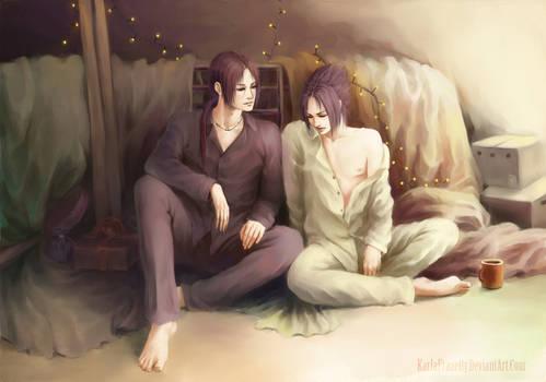 Itachi and Sasuke :  Morning