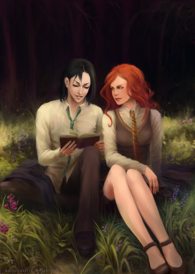 Severus and Lily by KarlaFrazetty