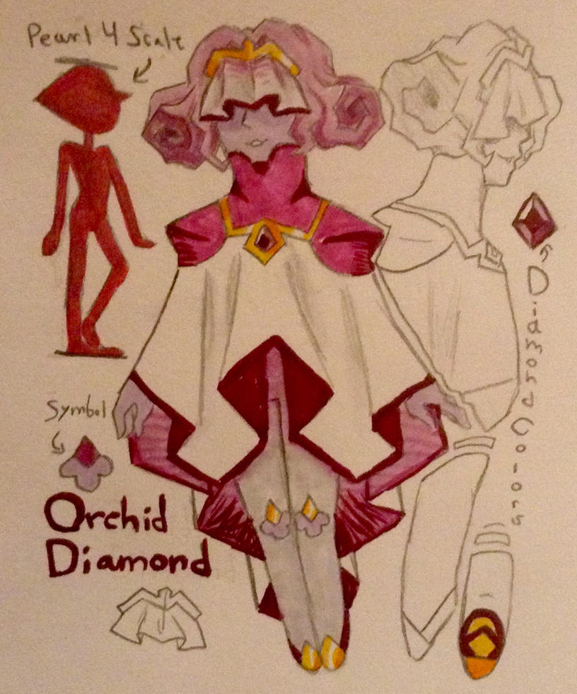 asexual my art orchid home by on deviantart senpai diamond