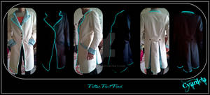 Steampunk Father Frost frock finished