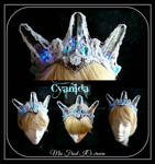 Steampunk Ice crown finished by Cyanida