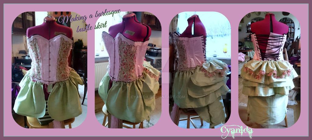 WIP Steampunk Caterpillar AbSalome skirt by Cyanida