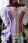 Steampunk Pastel burlesque outfit corset