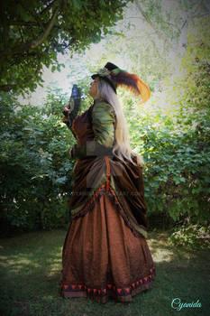 Steampunk Victorian lady